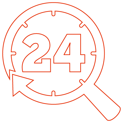 24 Hour Report Icon